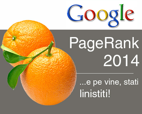 Update PageRank, De La Google!
